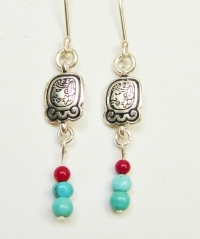 Earrings Ajpu / Ahau