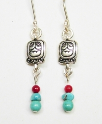 Earrings Aq'ab'al / Akbal
