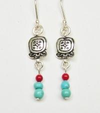 Earrings Q'anil / Lamat