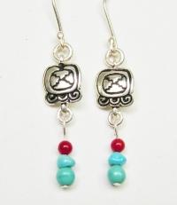 Earrings Tijax / Etznab